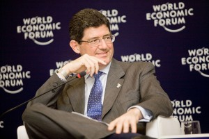 Joaquim Levy at the World Economic Forum on Latin America.