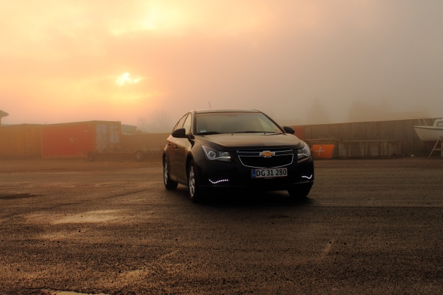 A Chevy Cruze. (Photo by Otto Kristensen.)