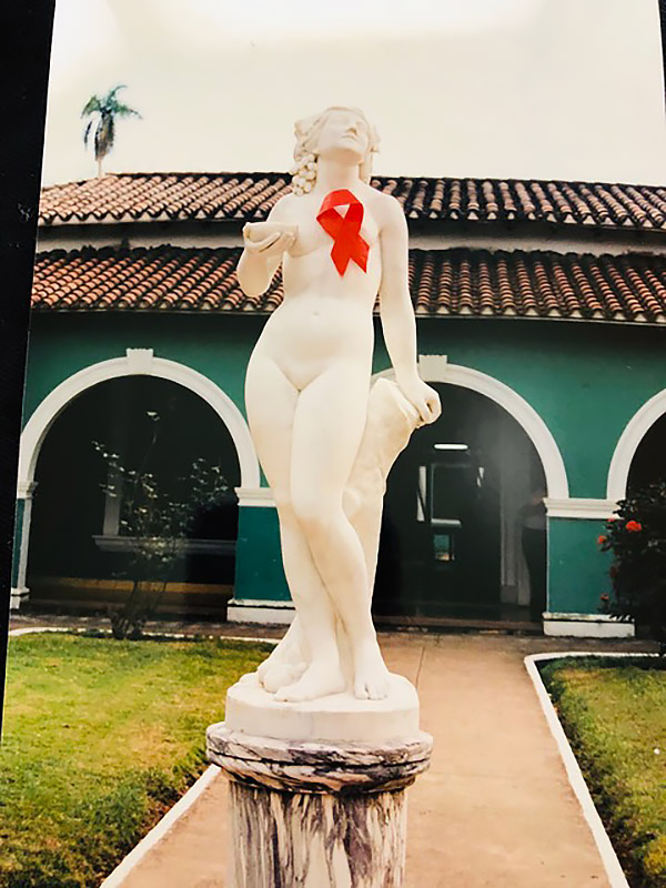 "The ""AIDs Venus"" on the grounds of Los Cocos. (Photo by Nancy Scheper-Hughes.)"